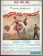 Do Re Mi 1959 Julie Andrews The Sound of Music Sheet Music