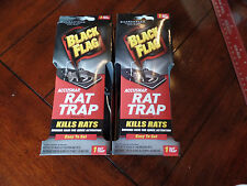 2 Black Flag Rodent Rat Trap with Free USPS 1st Class Shipping