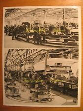 ~ 1970 Old Factory Photo NSU RO 80 production factory car vintage photo