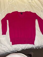 Woman's GAP Factory Small Pullover Sweater Pretty Pink