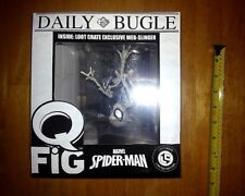 Spider-Man Q Fig Figure Loot Crate Lootcrate Exclusive Web Slinger