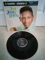 "Jesse Belvin – Just Jesse Belvin Vinyl 12"" LP Album RCA NL 89458 Reissue"