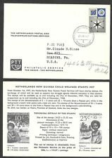 1957 Netherlands New Guinea Advertising Postcard - Child Welfare Stamps