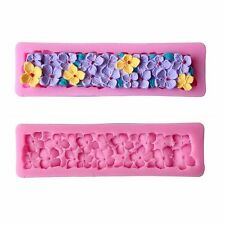 Flower Silicone Fondant Mold Cake Decorating Chocolate Sugar Craft Baking Tools