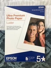 "Epson Ultra Premium Photo Paper Luster 11.5""x16.5"" 50 Sheets"