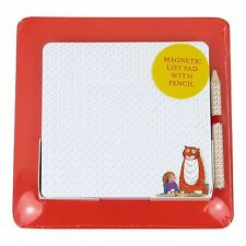 Robert Frederick Square Magnetic List Pad On Backing Card with Pencil Tiger