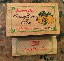 "Forrelti Swiss Tea Wood Box 5 1/2"" X 2 1/2"""