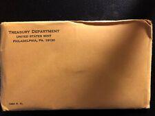 1964 US Mint Proof Set 165788p, original note and envelope