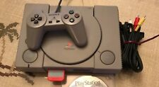 Sony PlayStation 1 Console NTSC, 4 Games, and Memory Card