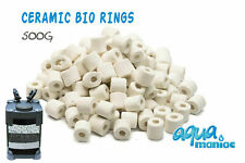 Premium Bio Ceramic Rings Filter Media for Aquarium Fish tank Accessories 500g