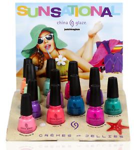 China Glaze Nail Polish 0.5 fl.oz - 14ml Sunsational Summer Neons Nail Lacquer