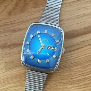 Vintage rare Chaika watch - quartz caliber, 1970s, USSR watch