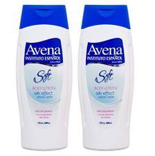 2x AVENA Soft Body Lotion SILK EFFECT With Silk Protein Moisturizing 17 Oz Each!