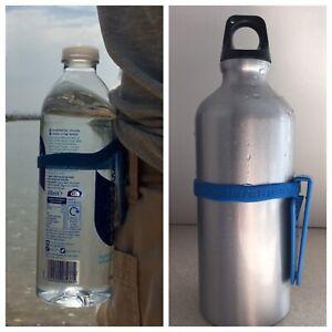 Water Bottle Holder Clip Camping Walking Hiking Outdoor Belt Buckle Waterclip UK
