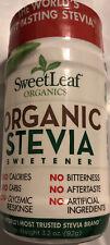 Organic Stevia Sweetener 3.2 Oz Bottle Gluten Free No Artificial Ingredients !!