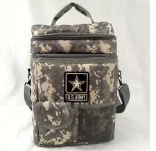 U.S. Army 12-Pack Camo Cooler-Brand New-Officially Licensed-Keeps drinks cold