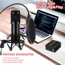 BM-800 Profi Podcast Set Studiomikrofon Set Großmembran Kondensatormikrofon DE