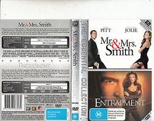 Mr And Mrs Smith-2005-Brad Pitt/Entrapment-1999-[2 Disc]-2 Movie-DVD