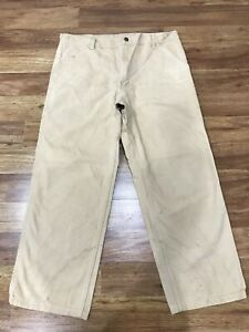 MENS 36 x 28 - Carhartt Duck Work Pants
