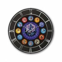 Disney Kingdom Hearts Lighting Clock Quartz clock RADIO CONTROL From Japan New