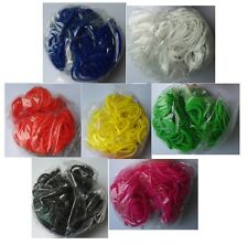 2100 Assorted Latex-free Loom Refill Rubber Bands Multiple Colors + 40 S Clips