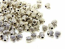 100 Pcs - Tibetan Silver Bails 6mm Jewellery Findings Necklace Bracelet J189