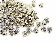 100 Pcs - Tibetan Silver Bails 6mm Jewellery Findings Necklace Bracelet J189