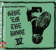 Give 'Em The Boot VOL.4 - Japan CD (Digipak) - NEW