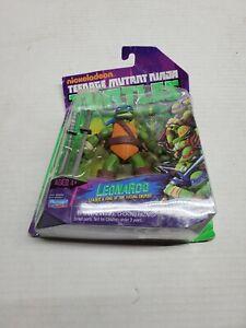 TMNT Nickelodeon Teenage Mutant Ninja Turtles 2012 Leonardo Figure New 9 Back