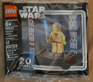LEGO 30624 Star Wars Obi-Wan Kenobi Collectible Minifigure polybag NEW 20 years