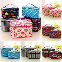 Travel Cosmetic Bag Make Up Vanity Case Box Pouch Toiletry Storage Holder Womens