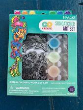 Animal Suncatchers 8 Pack Horizon Group USA Kids Crafts Painting