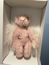 Annette Funicello-Faith-Mohair Angel Bear w/Locket of Annette's With Orginal Box