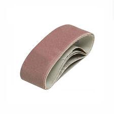 Schleifband Schleifbänder 5 St. K 80 für Bandschleifer BOSCH PVS 300 GVS 350 AE