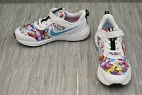 **Nike Revolution 5 Fable CJ2091-100 Sneakers, Little Girl's Size 3M, White NEW