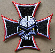 PATCH ECUSSON - IRON CROSS - WESTERN - COUNTRY- BIKER