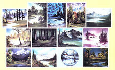 BOB ROSS, 3-disc DVD SET, Series 4 Teaches13 Paintings , BEAUTIFUL OLS