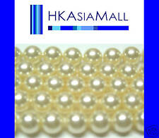 50pcs Swarovski Crystal Beads Pearl 5810 4mm CREAM