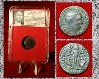 Ancient Roman Empire Coin Of LICINIUS I Jupiter Holding Victory On Globe