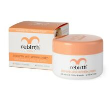 3x Rebirth Placenta Anti-wrinkle Cream With Vitamin E 1000iu& Lanolin, 100mL jar