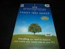 Who do you think you are? Family Tree Maker   pc game