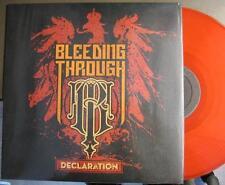 """BLEEDING THROUGH """"DECLARATION"""" - LP - RED VINYL"""