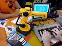 Commodore 64/128 Datel Robot Interface for Quickshot SVI-2000 Robot Arm