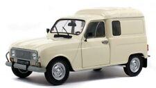 SOL1802201 - Voiture utilitaire de couleur blanc crème - Renault 4L F4  -  -