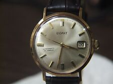 Vintage 41J SWISS, 18K GP, Automatic LeGant dress watch, AS1701/02, RESTORED!!!