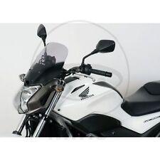 Parabrezza grigio per moto Honda