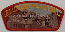 Black Hills Council FOS Mount Rushmore CSP Thrifty Mint Condition FREE SHIPPING
