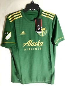 Adidas Youth MLS Jersey Portland Timbers Team Green sz XL