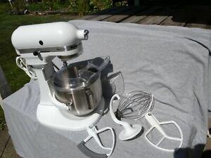 KitchenAid K5SS Heavy Duty Series 5qt Stand Mixer - White Bowl Lift St Joseph MI