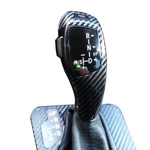 for BMW Carbon Fiber LED Gear Shift Knob 1 3 Series E81 82 84 87 88 90 91 92 93